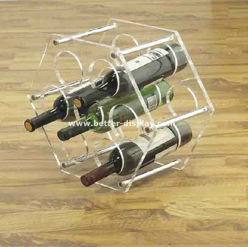 Wholesale Acrylic Wine Glass Holder Tray