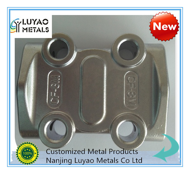 Stainless Steel/Aluminum Investment Casting and CNC Machining