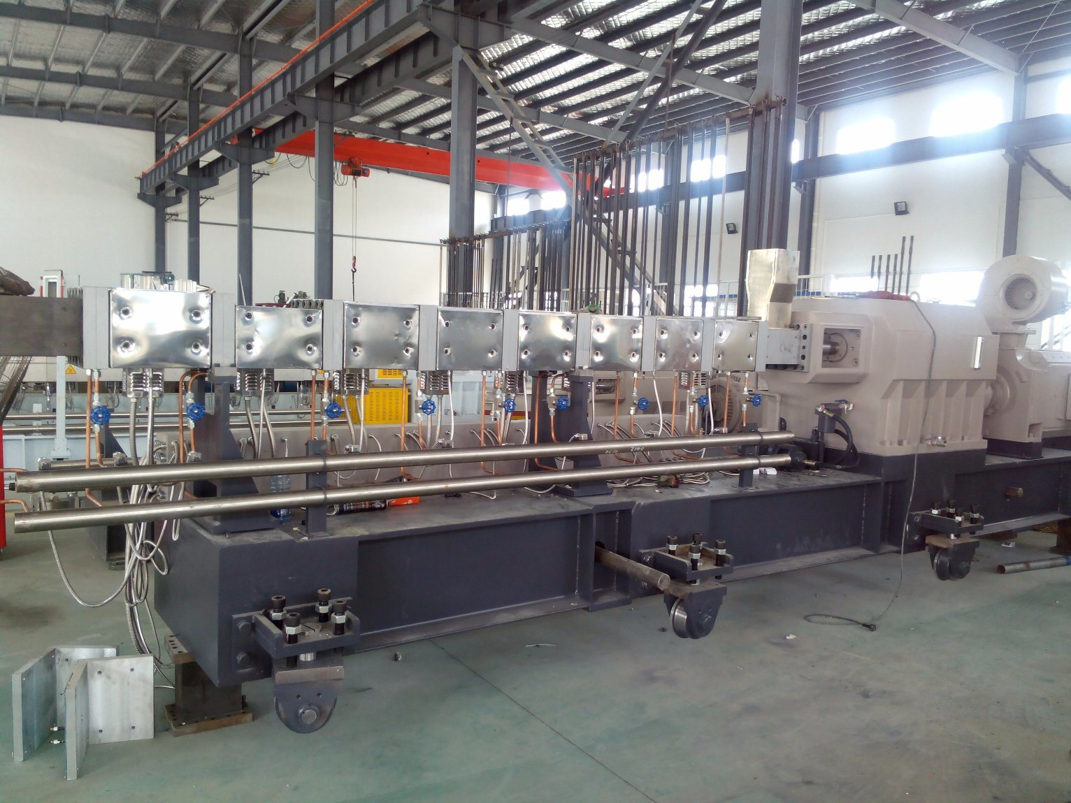 Tse-65 Non Woven Cable Extrusion Production Line for Granulating