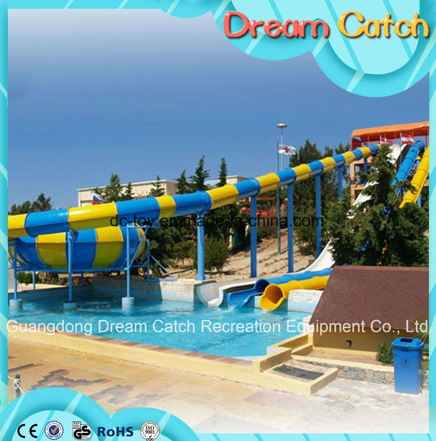 Hot Sale Big Water Slides for Sale, Best Price Water Park Slides for Sale