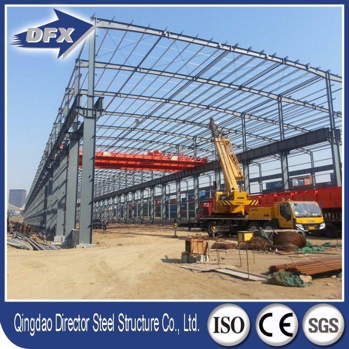 Prefab Car Steel Fabrication/ Steel Structure Workshop
