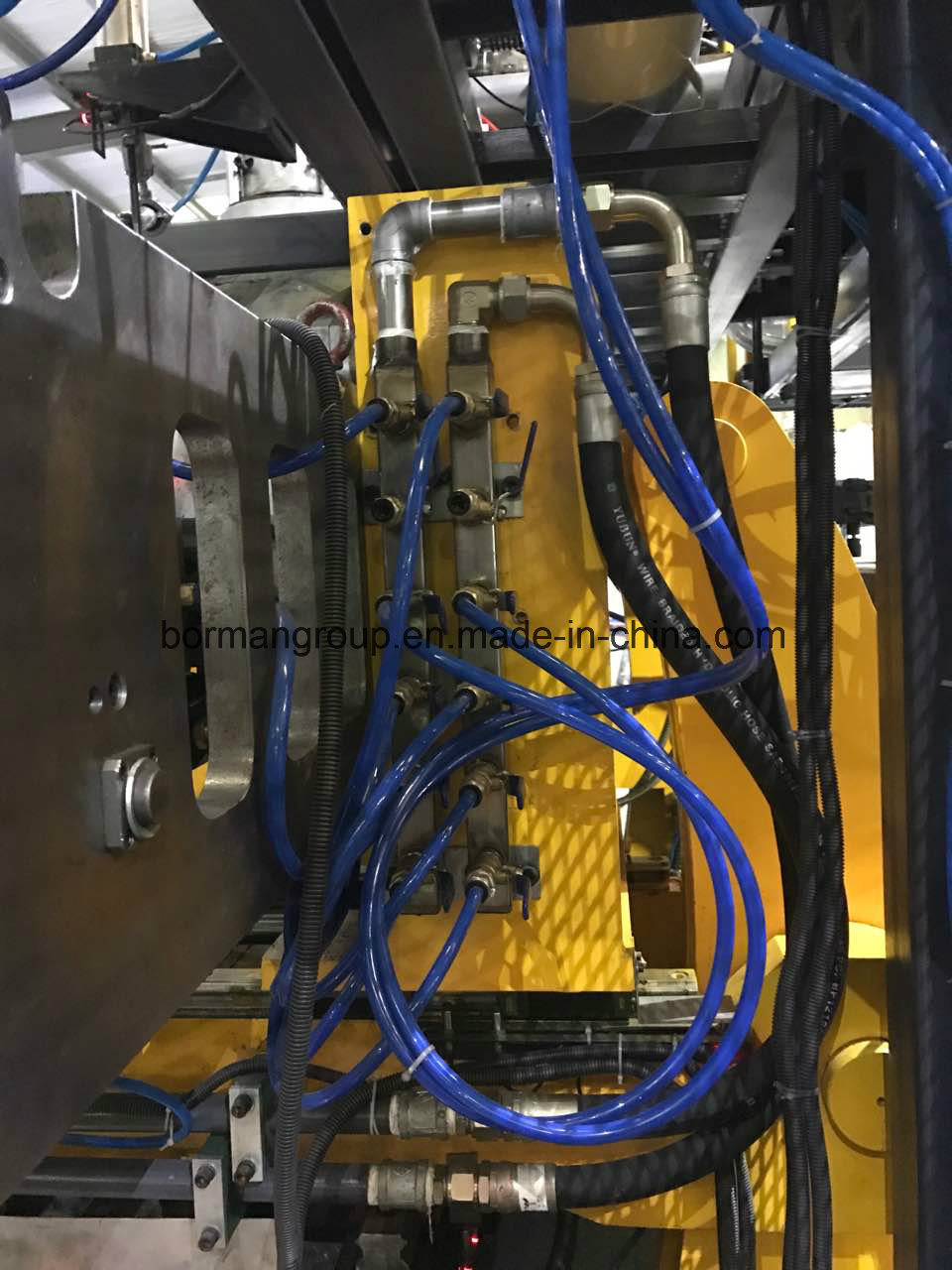 Twin Station Blow Molding Machine