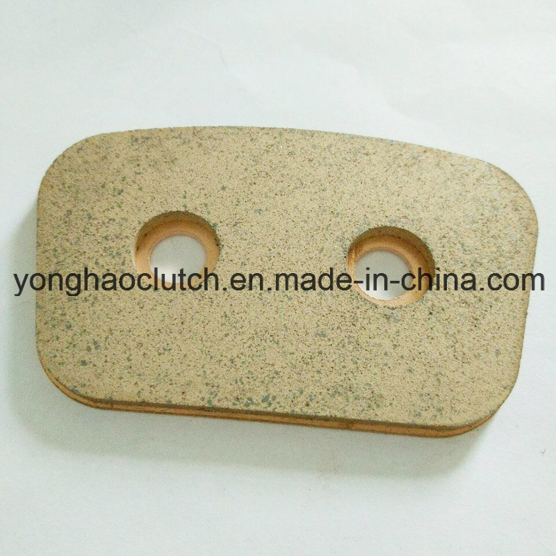 Bhg Ceramic Clutch Button with Hole Through Rivets T2