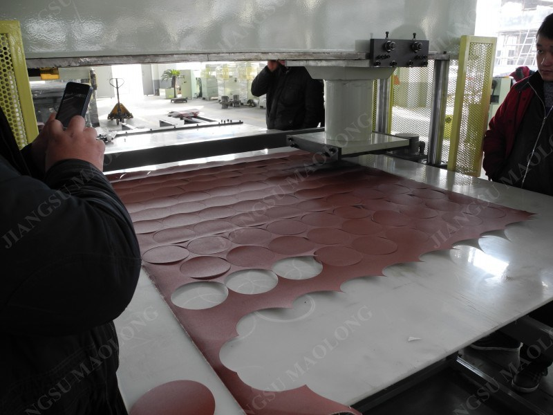 Hot Abrasive Paper Automatic Die Cutting Machine