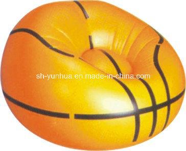 Inflatable Sport Ball Chair / Inflatable Single Sofa / Inflatable Fan-Shape Sofa