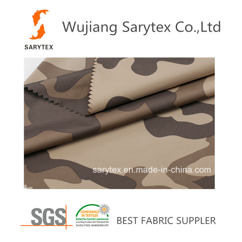 Satin Poly Transfer Printing100d/144f DTY X 75D/144f DTY 155X93 146cm 105gr/Sm Pd Printed Wr/C6 Calandered.