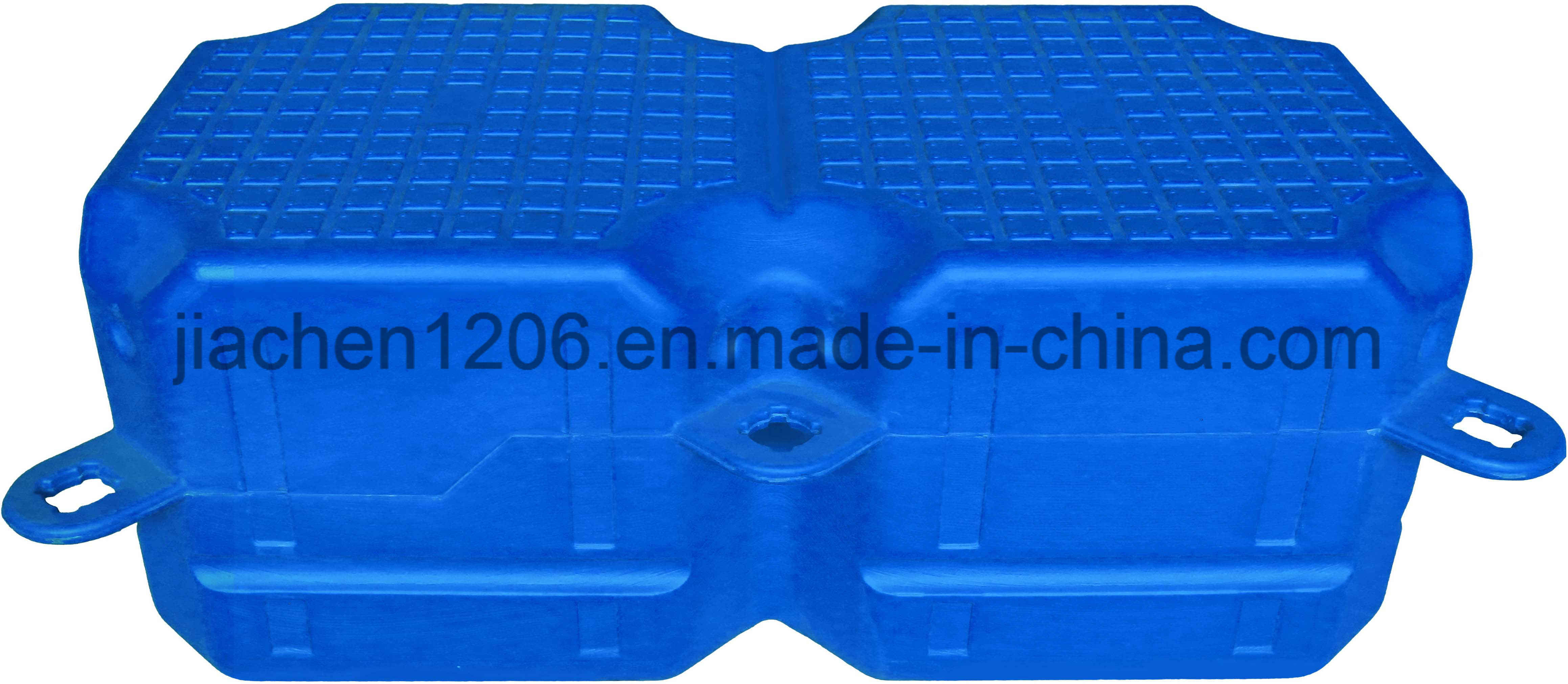 Hmwhdpe Anti Ultraviolet Double Pontoon Float Dock for Boat