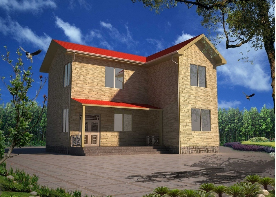 Prefabricated House for Fast Installation