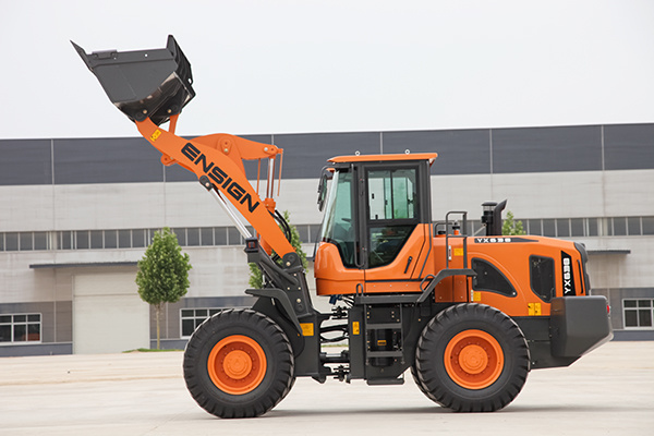 China Famous Brand 3ton Front Articulated Wheel Loader with Rops & Fops