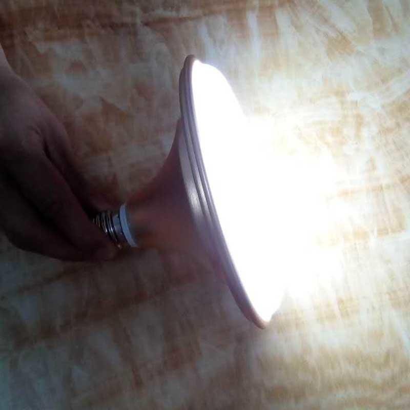 24W E27 UFO LED Emergency Bulb Lights >5 Hours Emergency Time