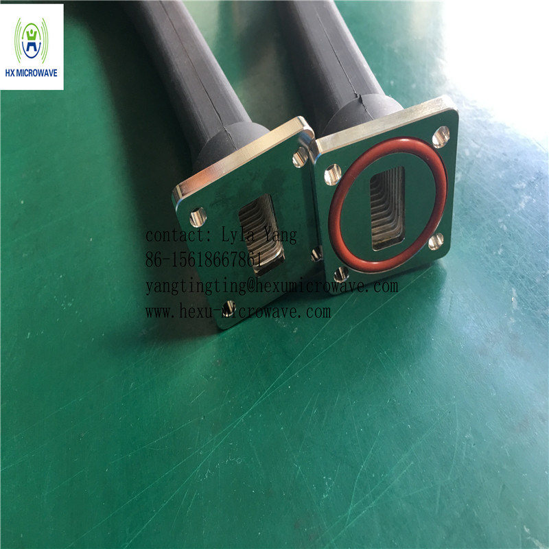 High Power Ku Band Flexible Twistable Microwave Waveguide