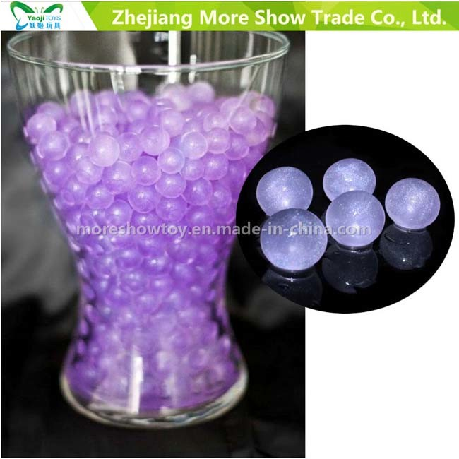 Purple Glitter Crystal Soil Water Beads Centrepieces Wedding Decorations