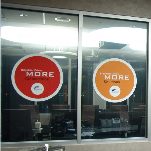 Custom Clear and White Removable Non-Adhesive Static Window Clings Sticker for Business & Home