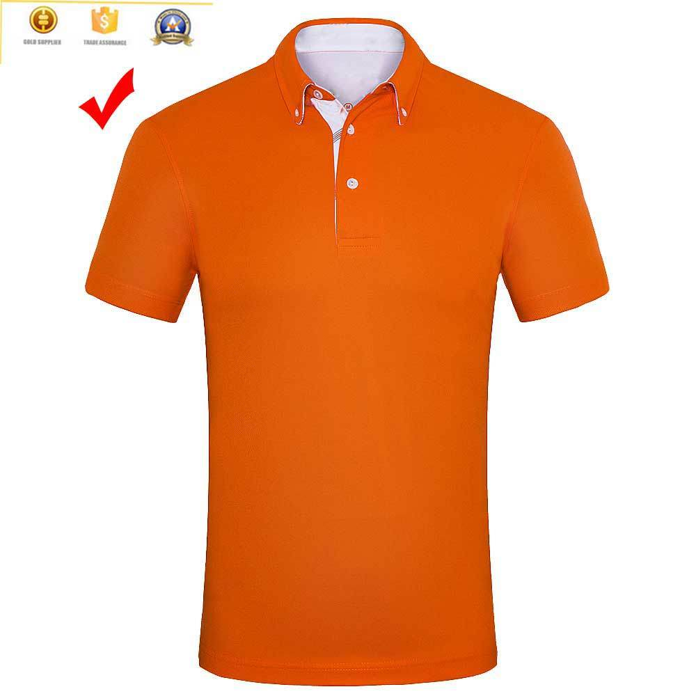 100% Polyester Custom Latest Men Polo Shirts Design