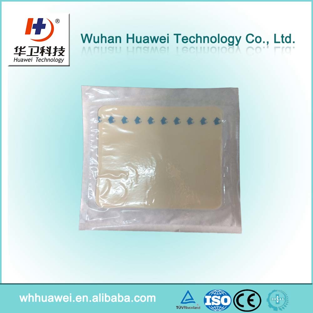 Leg Ulcer Bedsores and Burn Wound Hydrocolloid Waterproof Wound Dressing