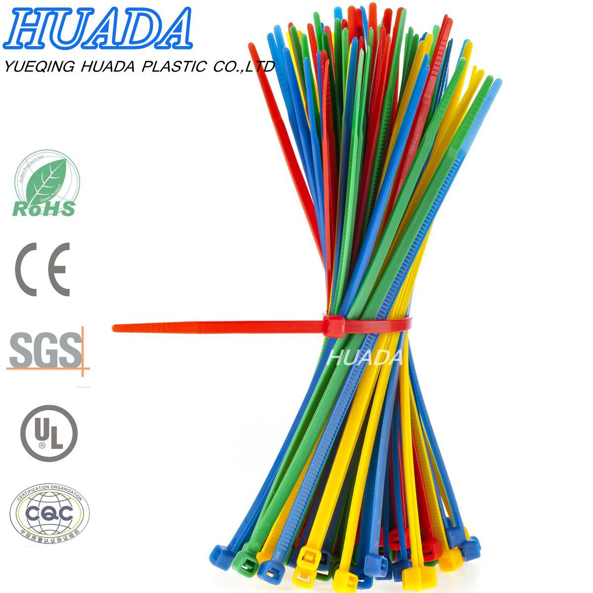 Self-Locking Cable Tie/ Zip Tie/Self-Locking Assorted Nylon Zip Wire Tie-Wrap