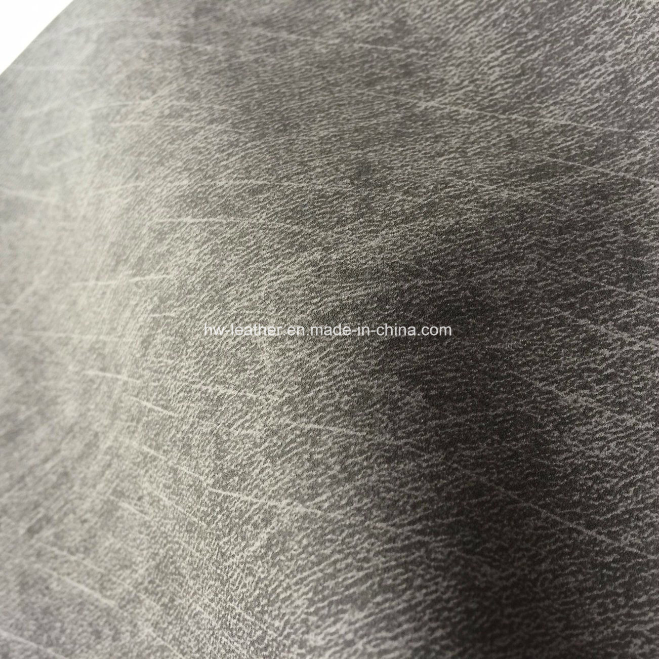 Cloth Imitating Fabric PU Leather for Shoes Bags Hx-S1714