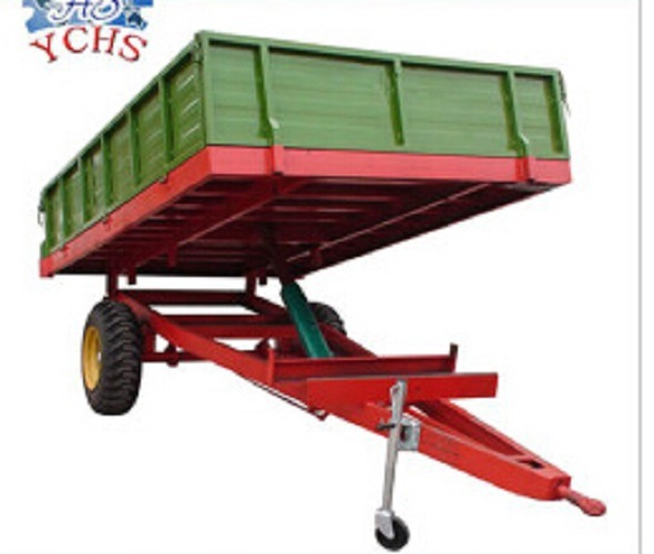 Cheap Price European Single Axle Trailers for Sale