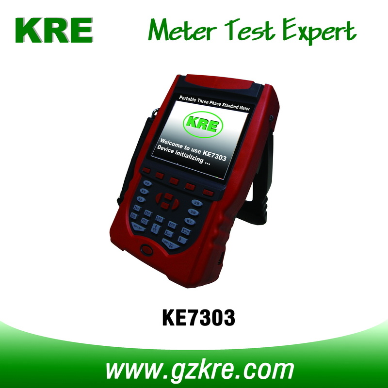 Class 0.05 Portable Three Phase Reference Standard Meter with Terminal and Clamp CT Current Input