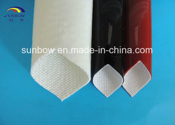10.0kv Silicone Rubber Coated Fiberglass Sleeve