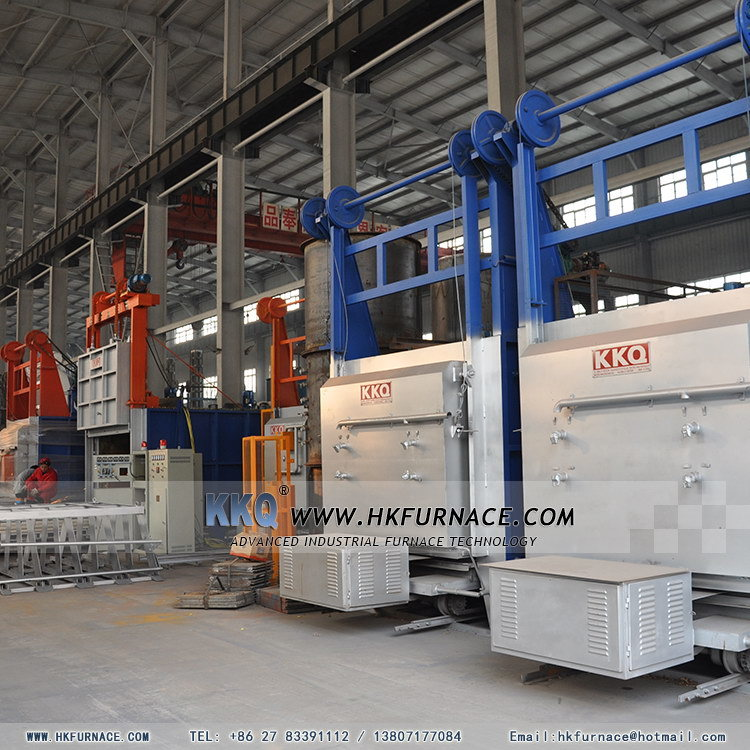 High Temperature Bogie-Hearth Electric Furnace