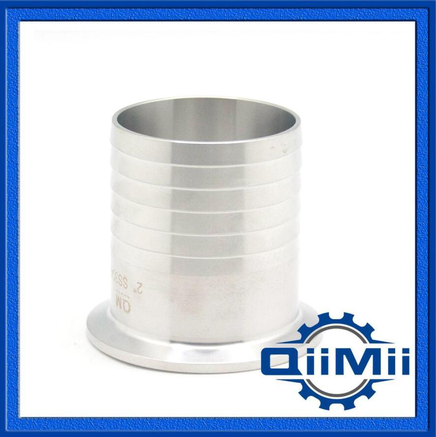 Sanitary Stainless Steel Clamp Hose Coupling Pipe Fitting 3A/DIN/SMS