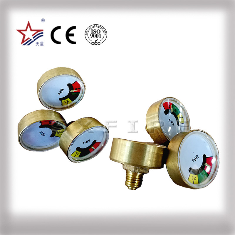 Fire Extinguisher Valve Pressure Gauge