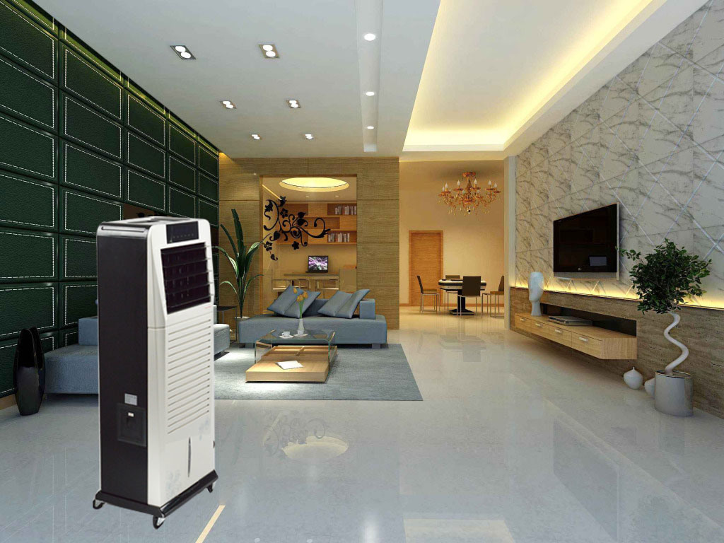 3500m^3/H Airflow Mobile Air Cooler/Evaporative Air Cooler/Mobile Air Conditioner Indoor Use Household Appliance