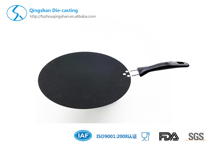 High Quanlity Popular Aluminum Ceramic Pizza Pan with Nonstick Coating