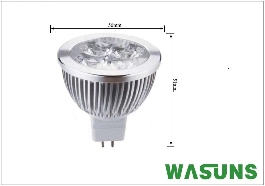 6W High Power 480lm MR16 Spot LED