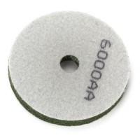 3000AA Grit Sponge Polishing Wheel Pad (Grey/Green)
