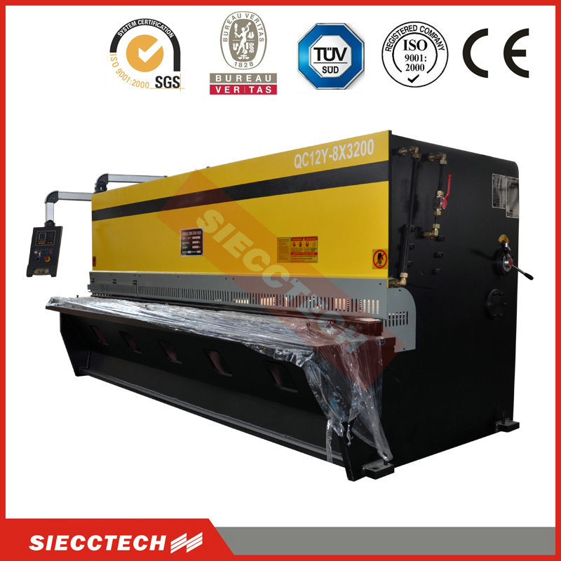 QC12y Series Hydraulic Guillotine Shear 6 *4000, Hot Sale Machine Shearing