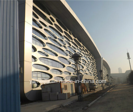 Aluminum Honeycomb Panel Exterior Curtain Wall