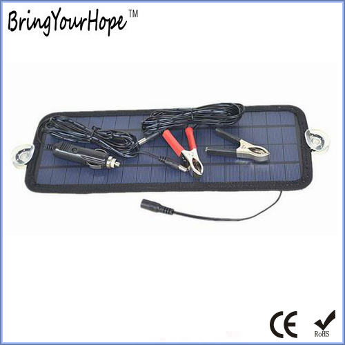 4.5W Solar Car Battery Charger 12V (XH-PB-139)