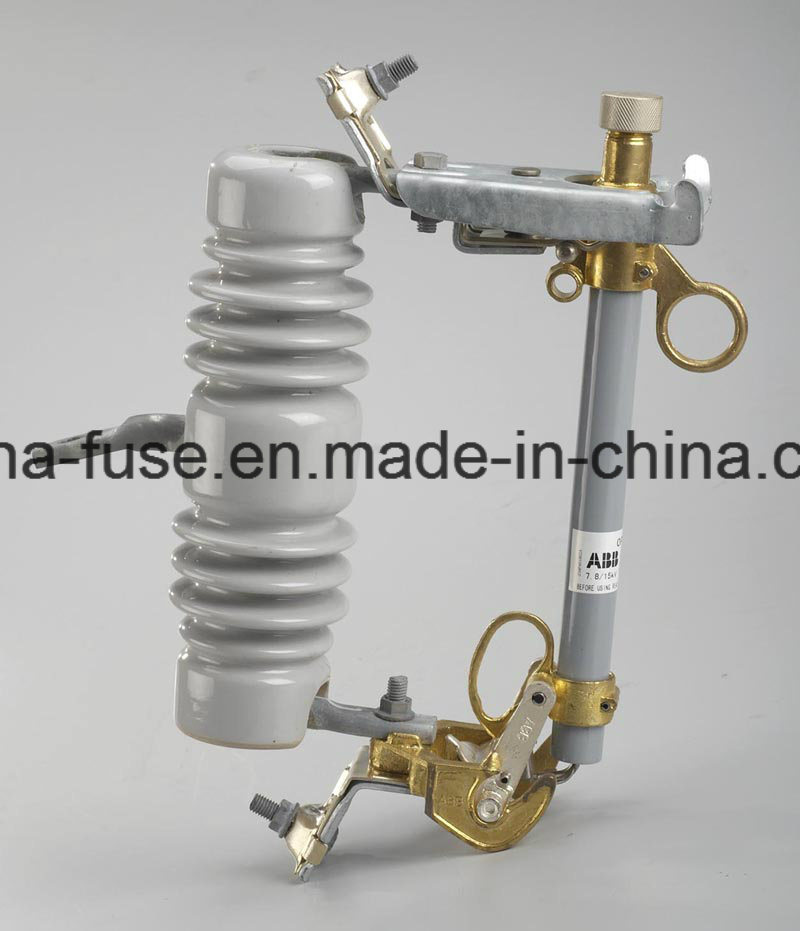 High Voltage Porcelain Fuse Cutout, Drop out Fuse 12kv