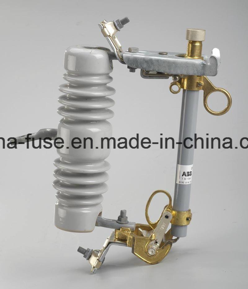 High Voltage Porcelain Fuse Cutout, Drop out Fuse 12kv