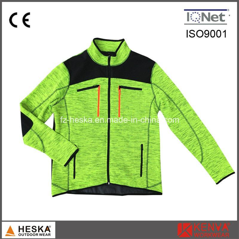 Anoraks Coarse Needle Knitted Men Jacket