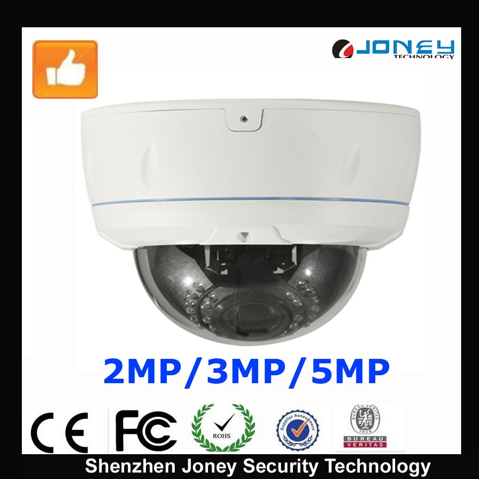 5MP IP Camera with IP66 Waterproof Camera of Starlight