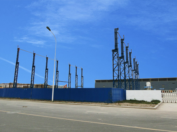 Large Span Light Steel Structure Plant Workshop