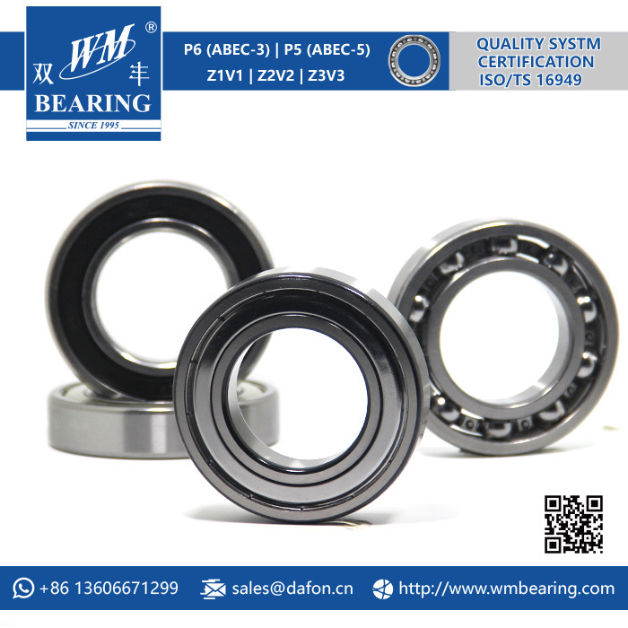 Automobile Parts Motorcycle Rolling Deep Groove Ball Bearing (6210 Z/ZZ/RS1/2RS/2RZ/DDU)