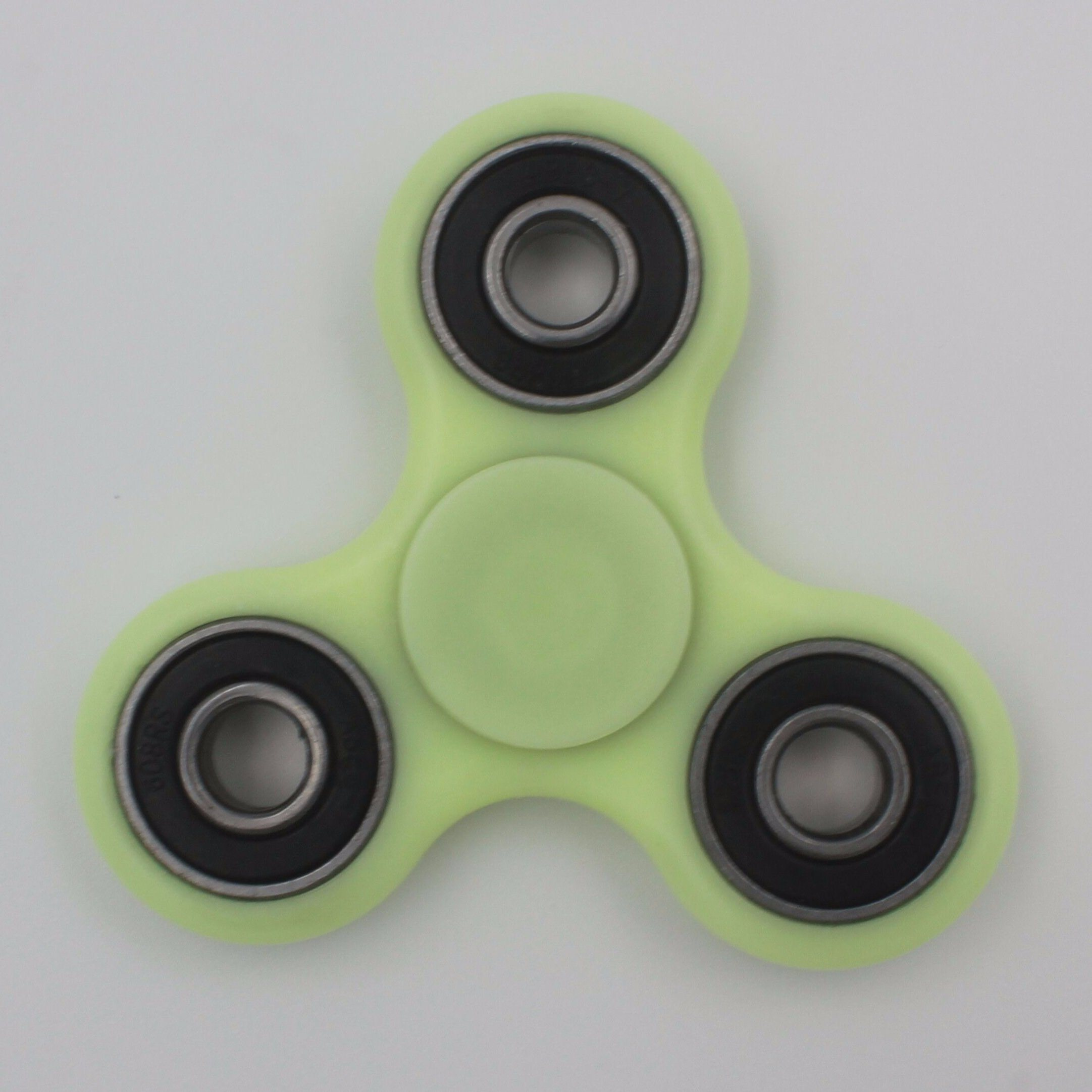 Fidget Spinner, Hand Spinner Bearing with Luminous Fluorescent Light Glow in The Dark, Ultra Durable High Speed for Add, Adhd Anxiety Autism Boredom Stress