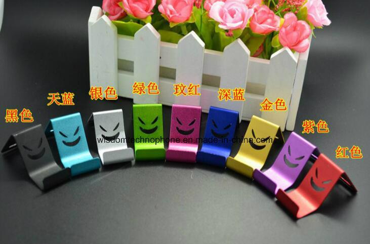 Mobile Phone Metal Stand, The Devil Smile Holder, Creative Smile Face Holder Stent
