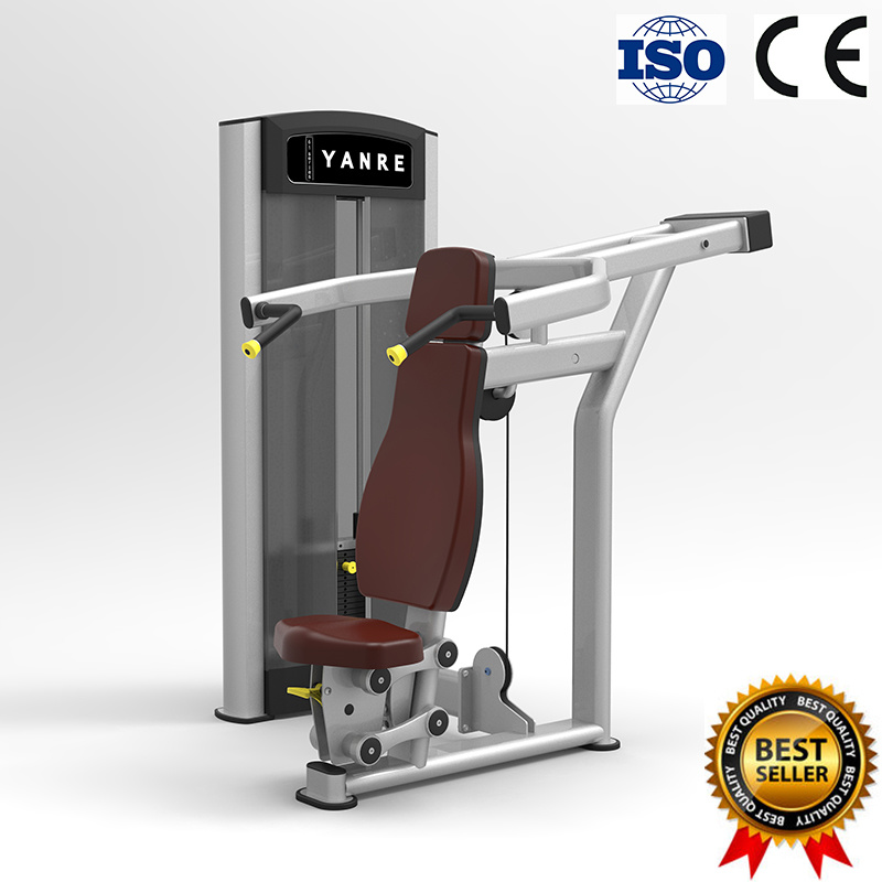 Seated Shoulder Press Commercial Gym Fitness Equipment Selectorized Machine