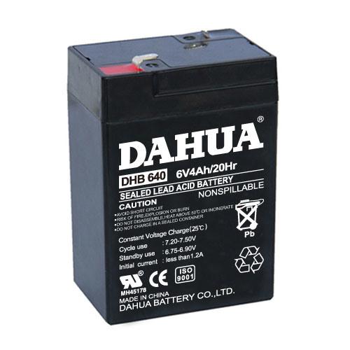 6V 4ah VRLA Sealed Lead Acid Maintenance Free UPS Battery