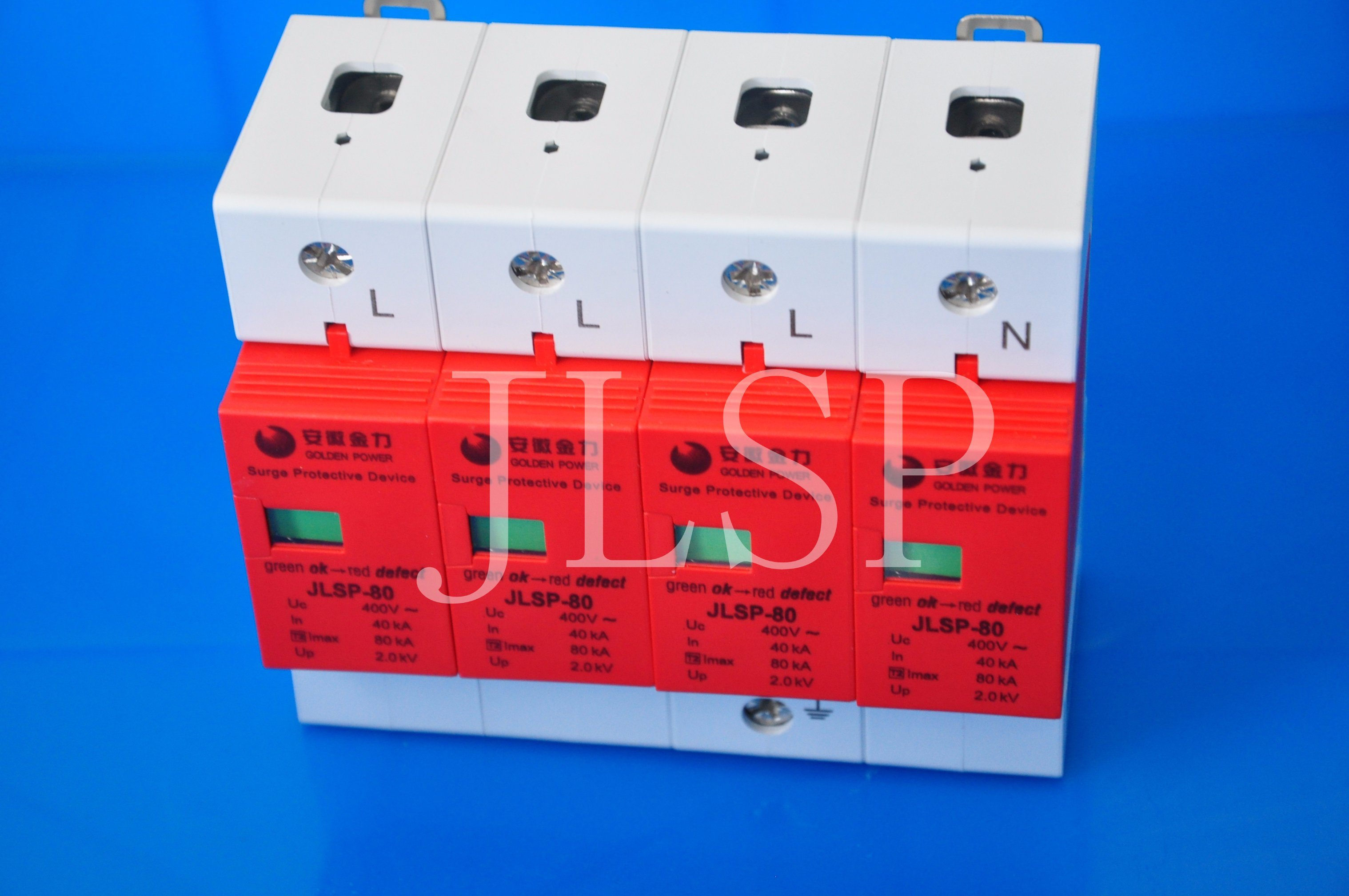 Surge Protective Device 20ka 230/400V, Jlsp-400-80, SPD, 80-008