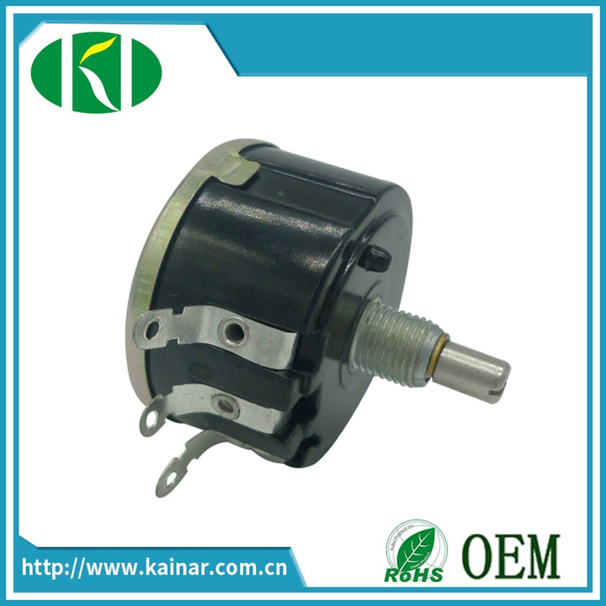 Wx050 Single Turn Precision Wirewound Potentiometer