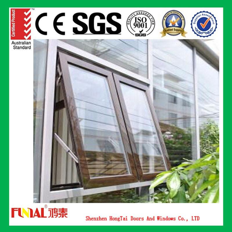 Heat Insulation Glass Awning Windows