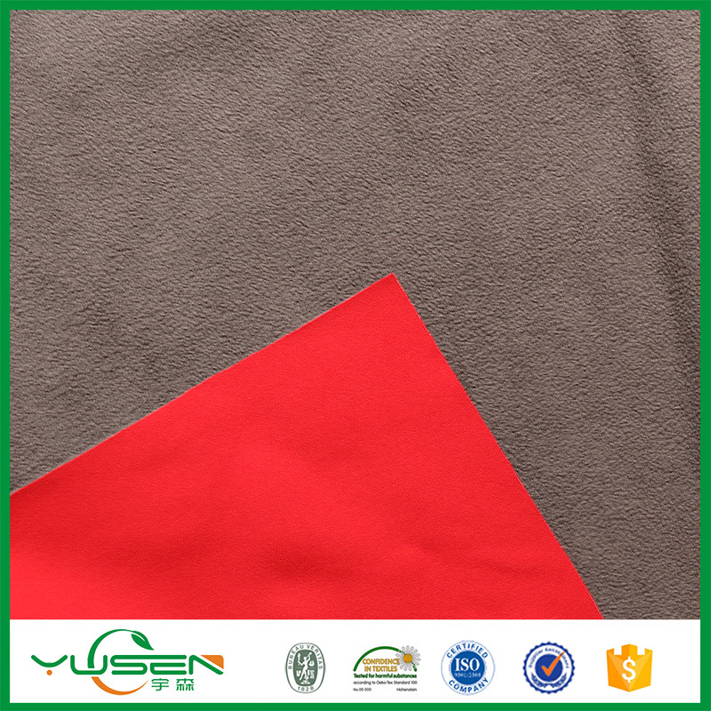 Printed Polyester Stretch Bonding Velvet Sofa Fabric