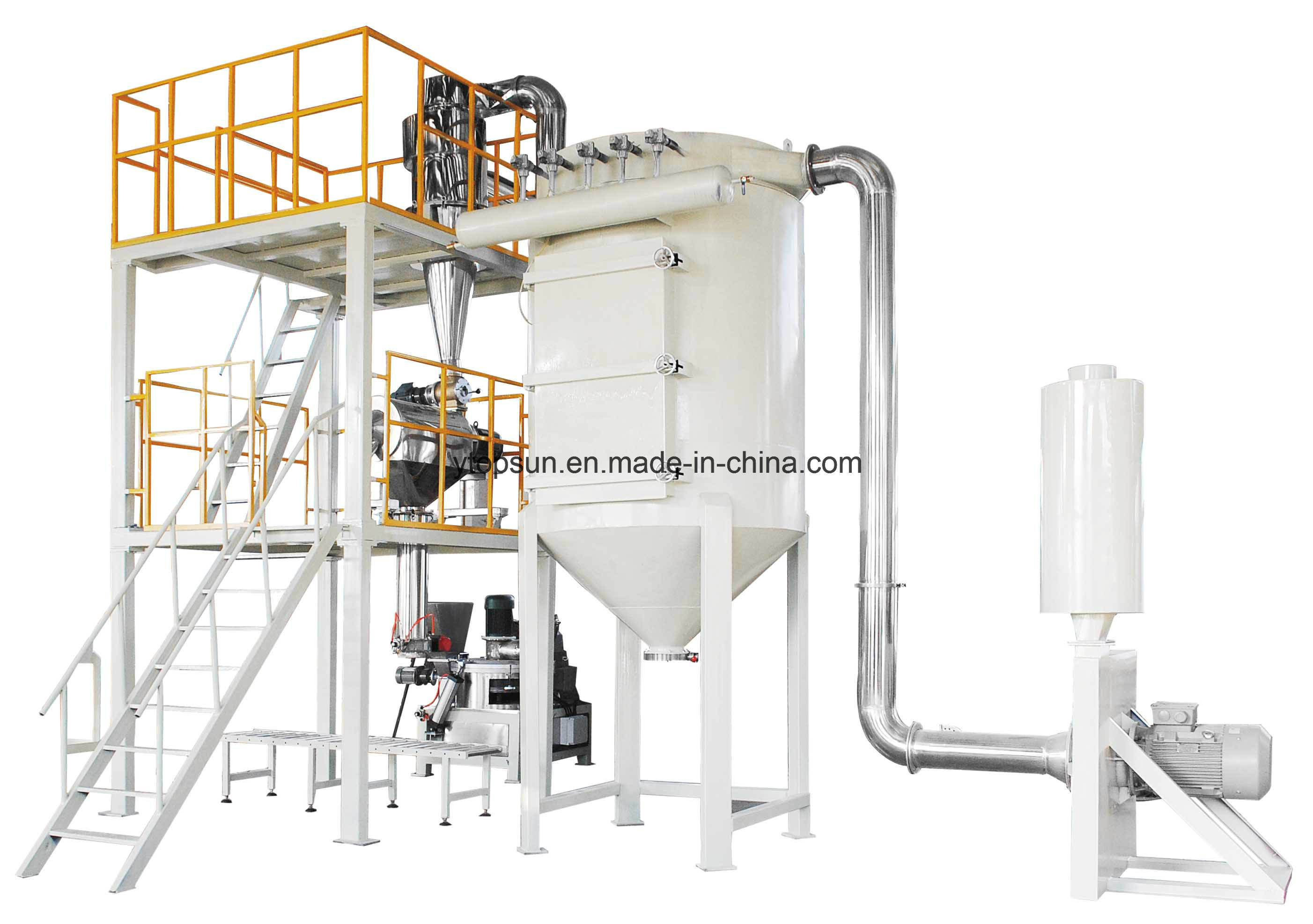 Powder Coating/Paint Producing/Manufacturing/Production/Making Air Classifier/Classifying Grinding Mill