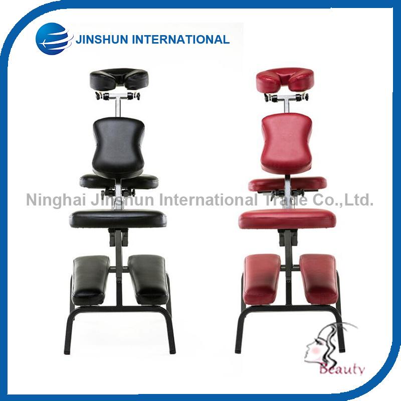 Comfortable Portable Metal Folding Massage Chair (JSI-0005)